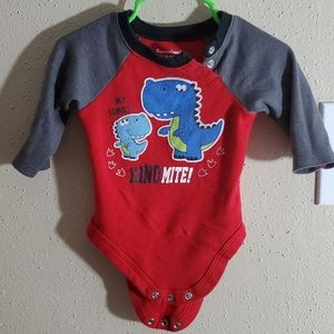 boys long sleeve onesie 3-6 months